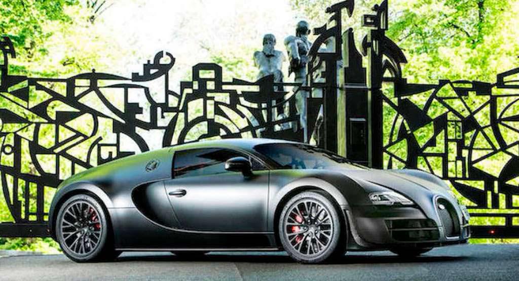 Последний Bugatti Veyron Super Sport
