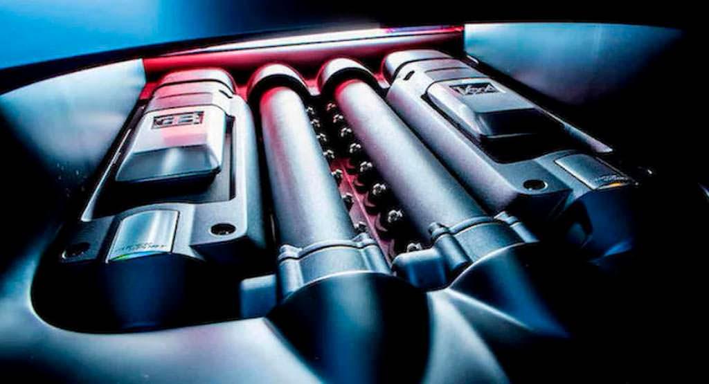 Двигатель Bugatti Veyron Super Sport 8,0-литра W16