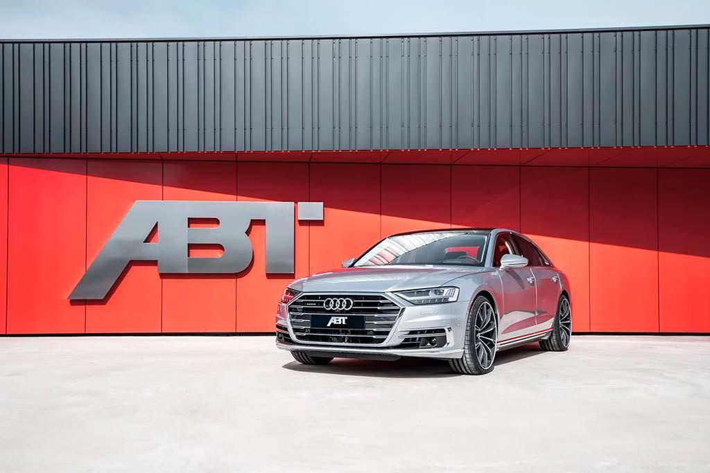 Новая Audi A8 Diesel. Тюнинг ABT Sportsline