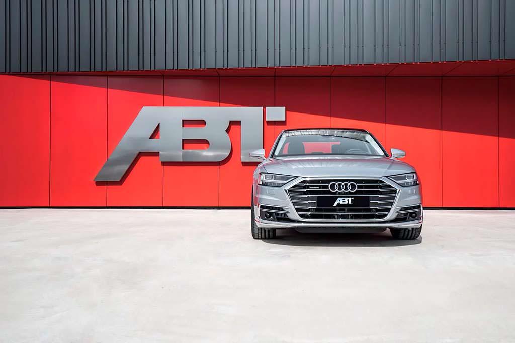 Дизельная Audi A8 50 TDI. Тюнинг от ABT Sportsline