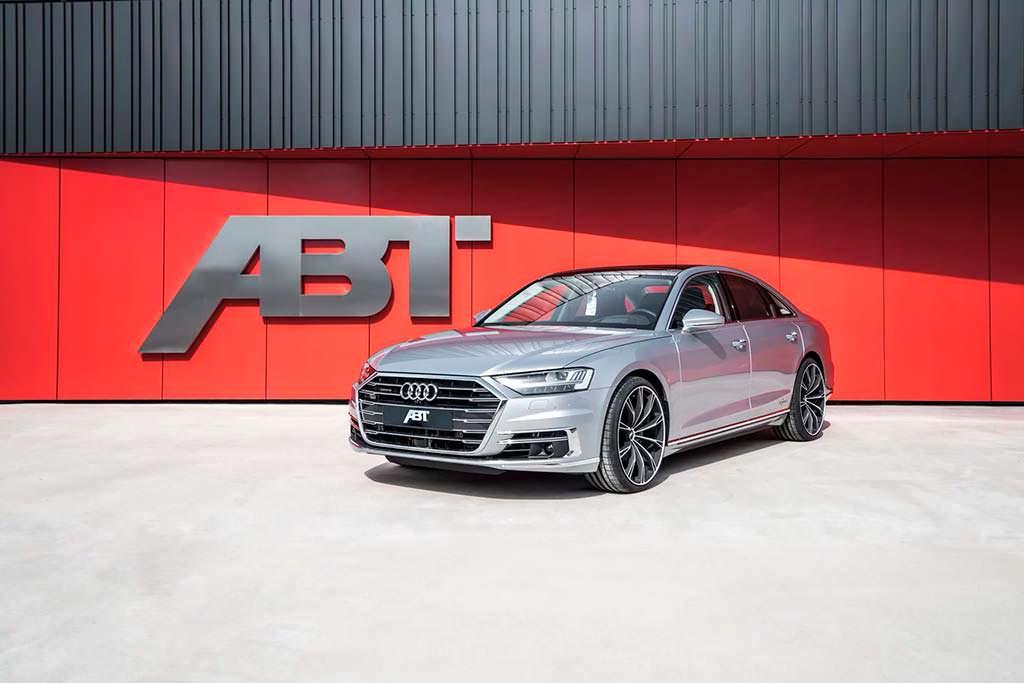 Представительский седан Audi A8 50 TDI. Тюнинг от ABT Sportsline