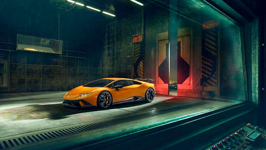 Тюнинг Lamborghini Huracan Performante от Novitec