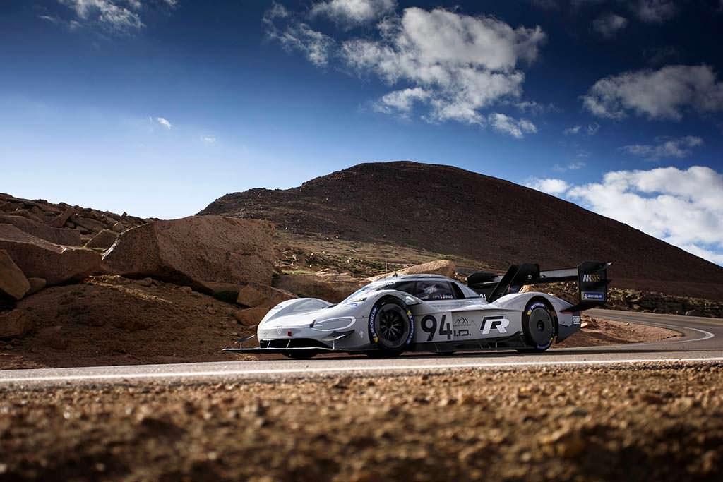 Абсолютный рекордсмен Volkswagen I.D. R Pikes Peak