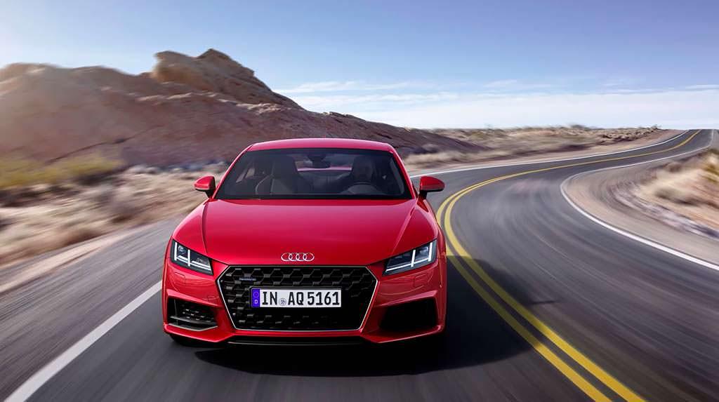 Новая Audi TT Coupe 2019 года