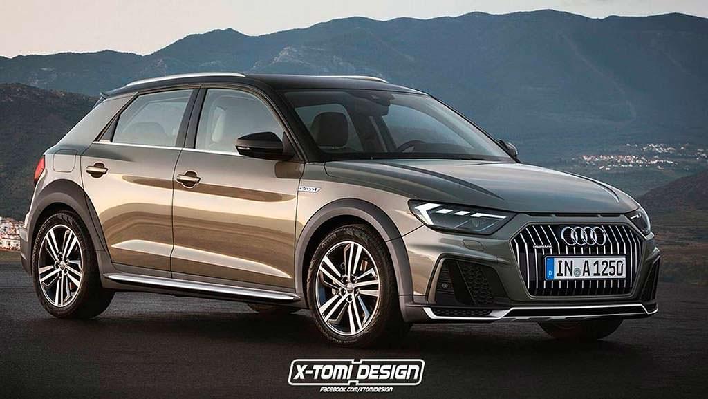 Вседорожный универсал Audi A1 Allroad от X-Tomi Design