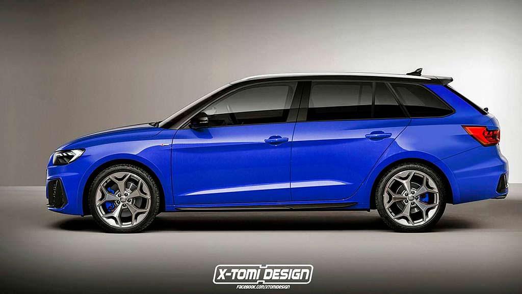 Компактный универсал Audi A1 Avant от X-Tomi Design