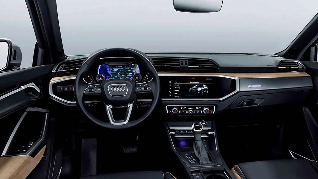 Фото салона Audi Q3 2019