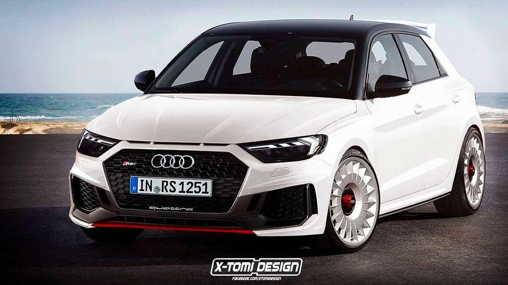 Хардкорная Audi RS1 Clubsport Quattro от X-Tomi Design