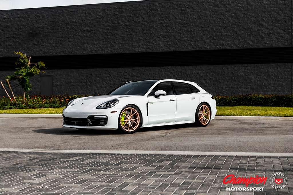 Porsche Panamera Sport Turismo на дисках Vossen Wheels