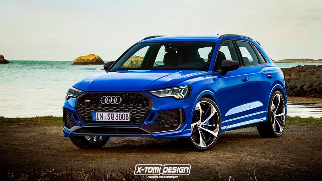 Новая Audi RS Q3, неофициальный дизайн X-Tomi Design