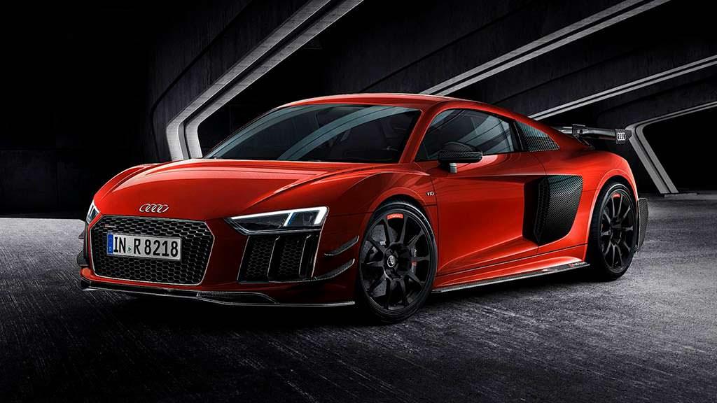 Суперкар Audi R8 V10 Plus. Спецверсия Audi Sport