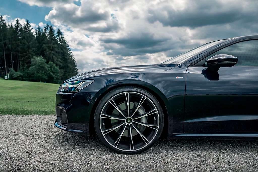 Audi A7 V6 TFSI на 22-дюймовых колесах ABT Sportsline