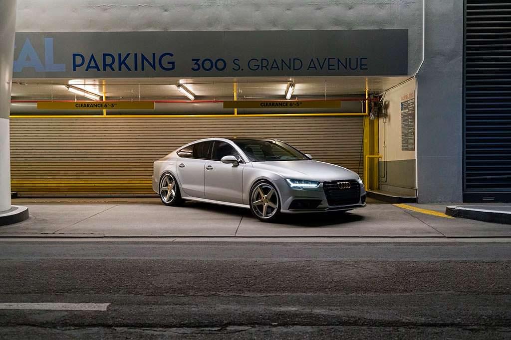 Audi S7 на пятиспицевых дисках Forgiato Tec 3.8