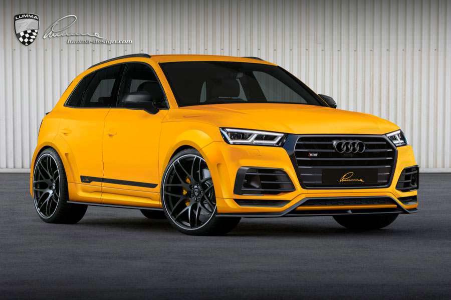 Крутой тюнинг Audi SQ5 от Lumma