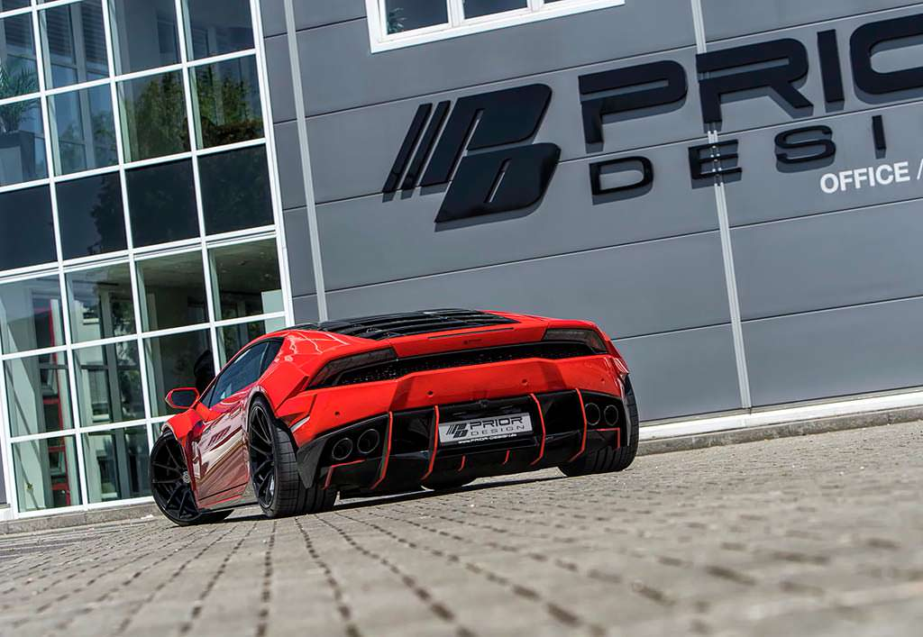 Тюнинг Lamborghini Huracan от Prior Design