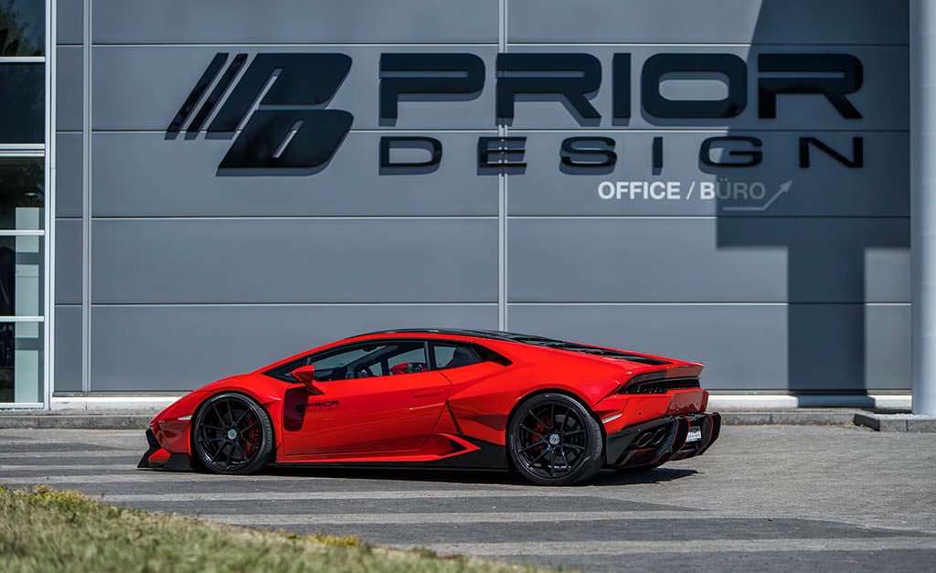 Lamborghini Huracan. Тюнинг от Prior Design