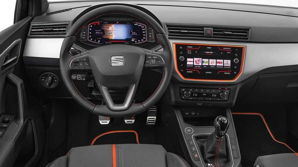 Цифровой кокпит SEAT Ibiza / Arona