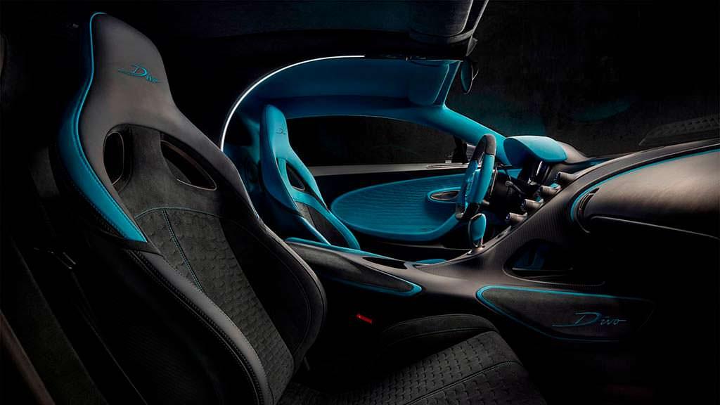 Фото в салоне Bugatti Divo