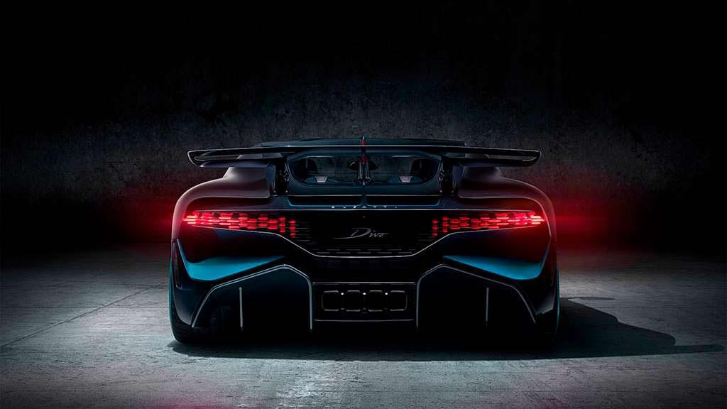 Задняя светотехника Bugatti Divo