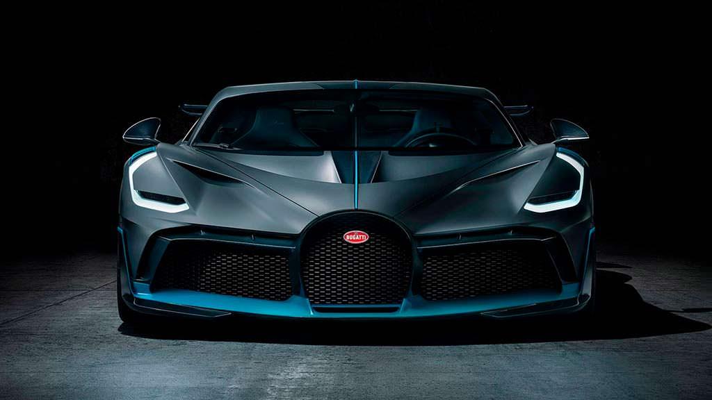 Bugatti Divo на базе Chiron