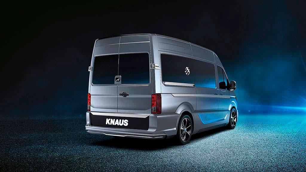 Кемпер из фургона MAN TGE от Knaus Tabbert