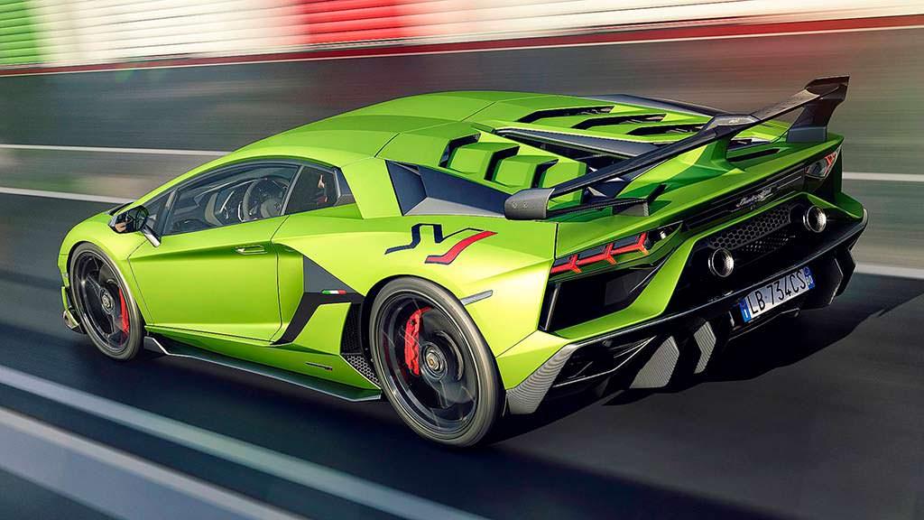 Самый быстрый Lamborghini Aventador SVJ