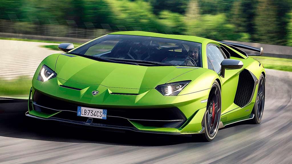 Lamborghini Aventador SVJ. Максимальная скорость 350 км/ч