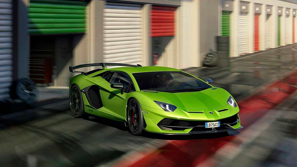 Самый мощный Lamborghini Aventador SVJ
