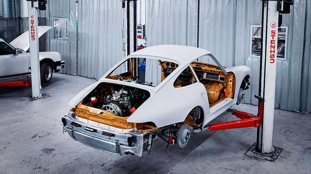 Классическая Porsche 993