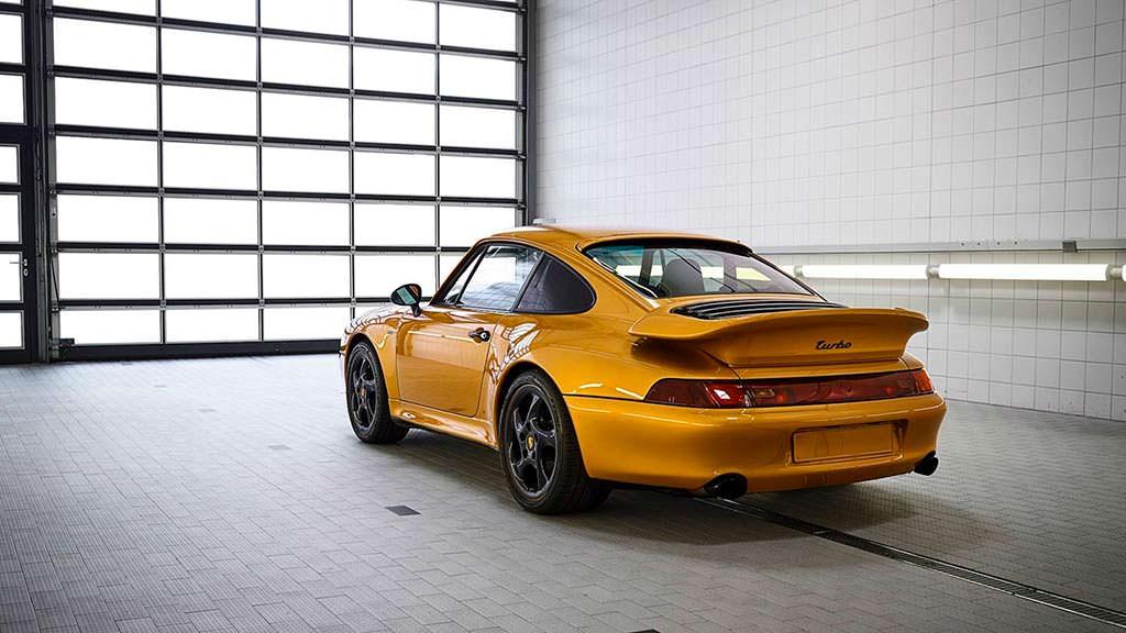 Porsche 993 Project Gold