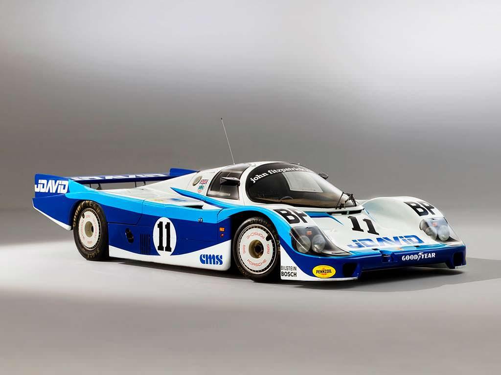 Porsche 956 - рекордсмен Нюрбургринга до 2018 года