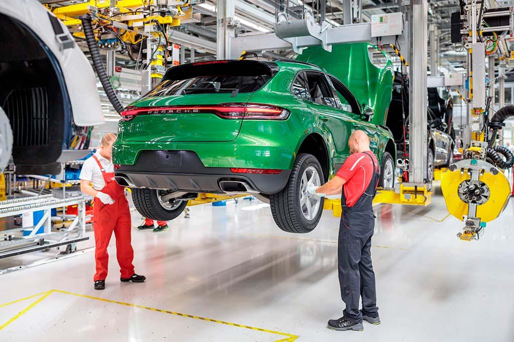 Производство Porsche Macan 2019. Завод в Лейпциге