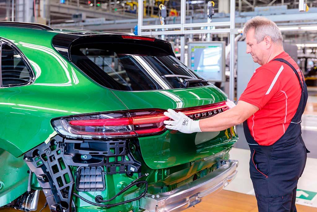 Производство Porsche Macan 2019