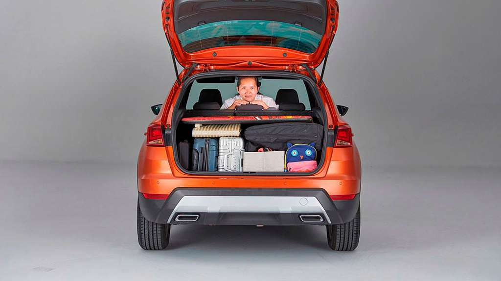Порядок в багажнике по принципу KonMari