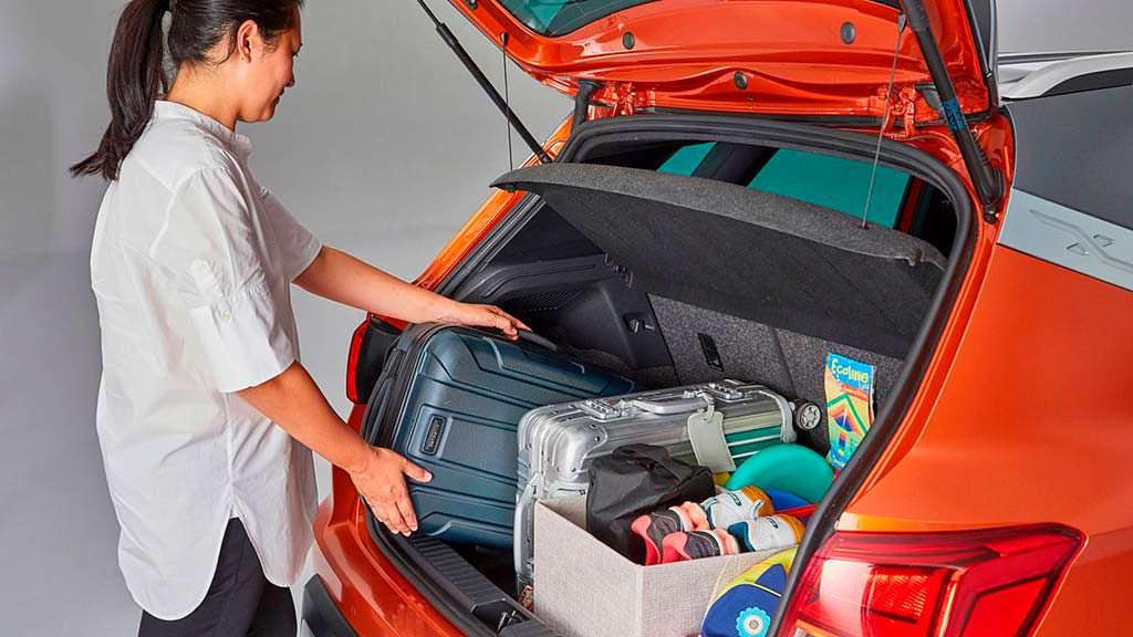 Загрузка багажника по принципу Тетриса