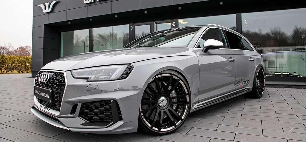 Спортивный универсал Audi RS4 Avant. Тюнинг Wheelsandmore