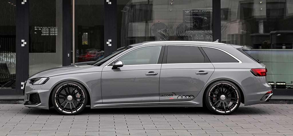 Тюнинг Audi RS4 Avant от Wheelsandmore. Мощность 527 л.с.