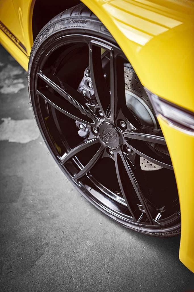 Колесные диски Porsche 911 Carrera T от TechArt