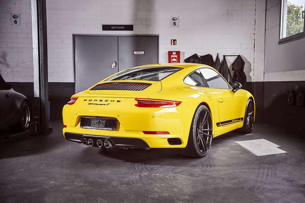 Тюнингованный Porsche 911 Carrera T