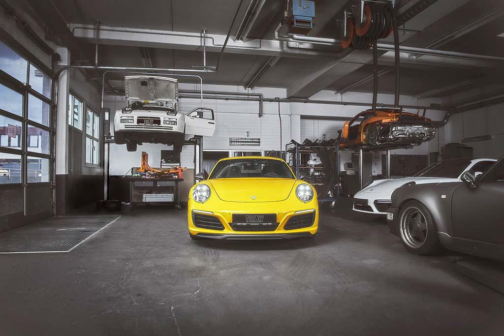 Тюнинг Porsche 911 Carrera T от TechArt. Мощность 425 л.с.