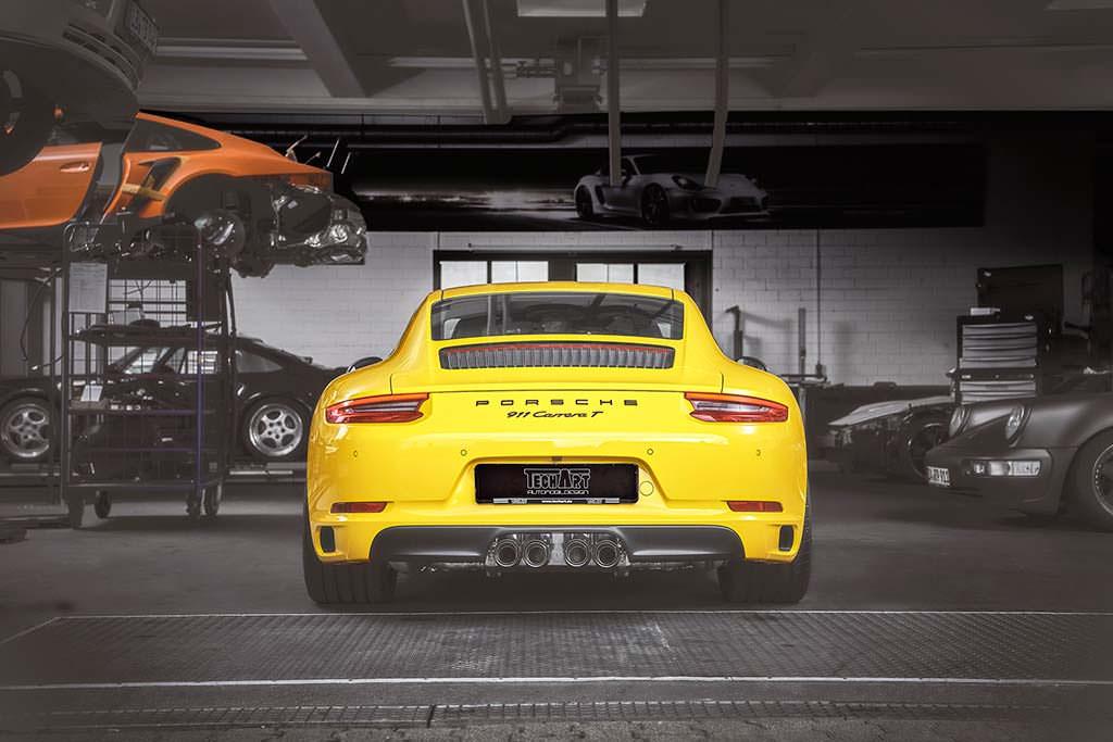 Тюнингованный Porsche 911 Carrera T от TechArt