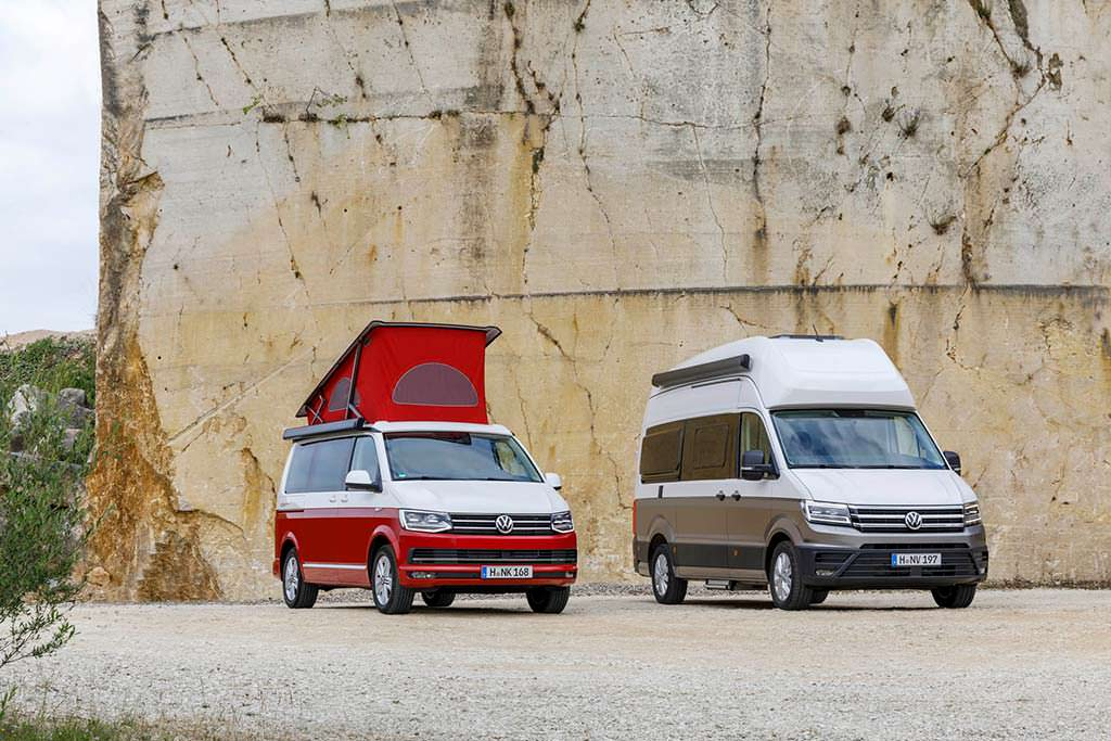 Кемперы Volkswagen California и Grand California