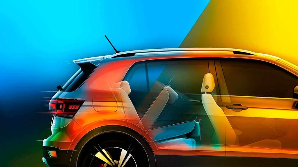 Багажник Volkswagen T-Cross емкостью 455 литров