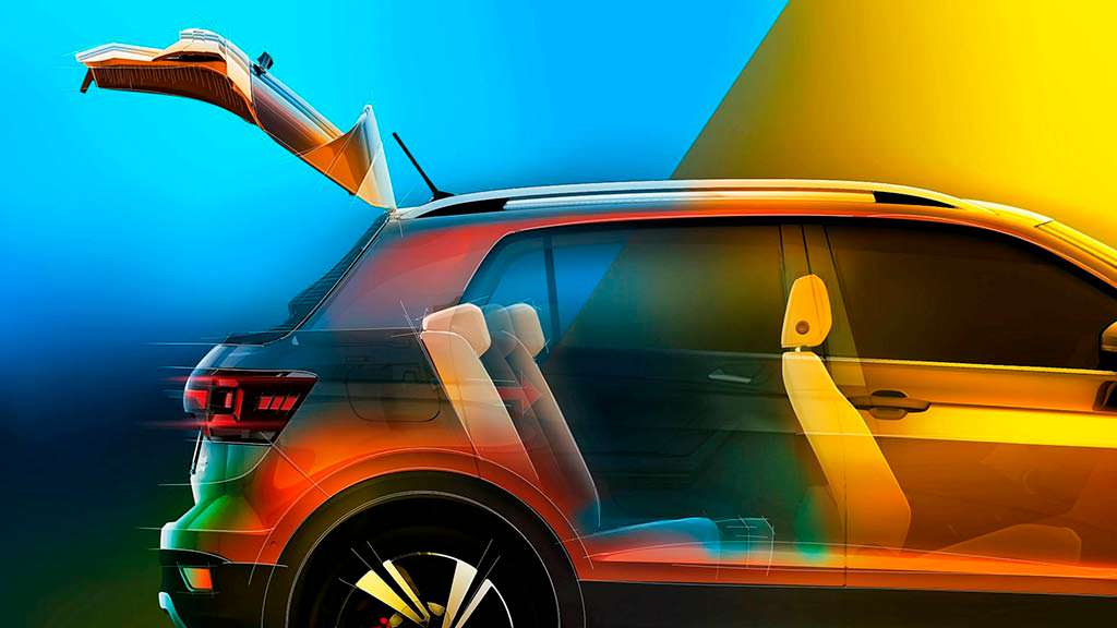 Конфигурация багажника Volkswagen T-Cross