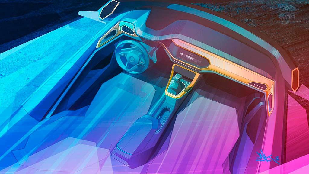 Дизайн салона Volkswagen T-Cross