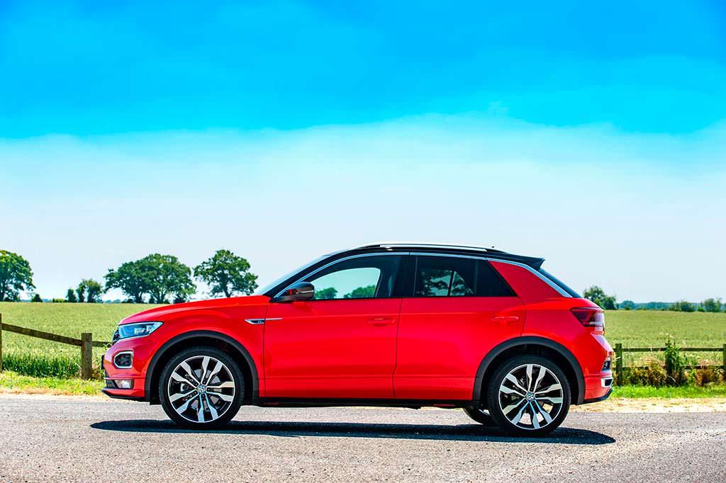 Volkswagen T-Roc 1.6 TDI для Британии