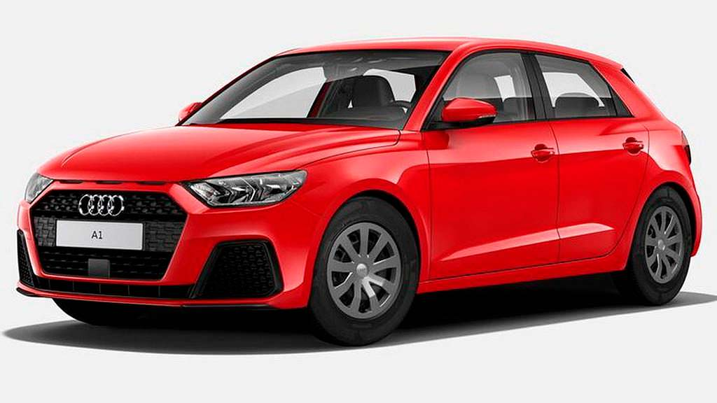 Начальная Audi A1 в Германии. Цена от €21 700