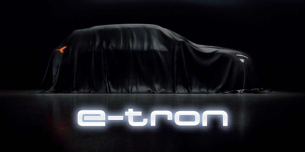 Электро-кроссовер Audi E-Tron
