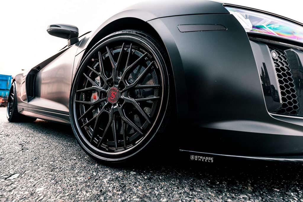 20-дюймовые колеса Audi R8 V10 Plus от Strasse