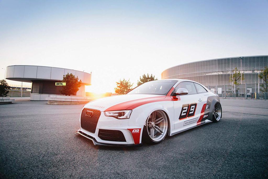 Спортивная Audi S5 Coupe. Тюнинг от SR66 Design